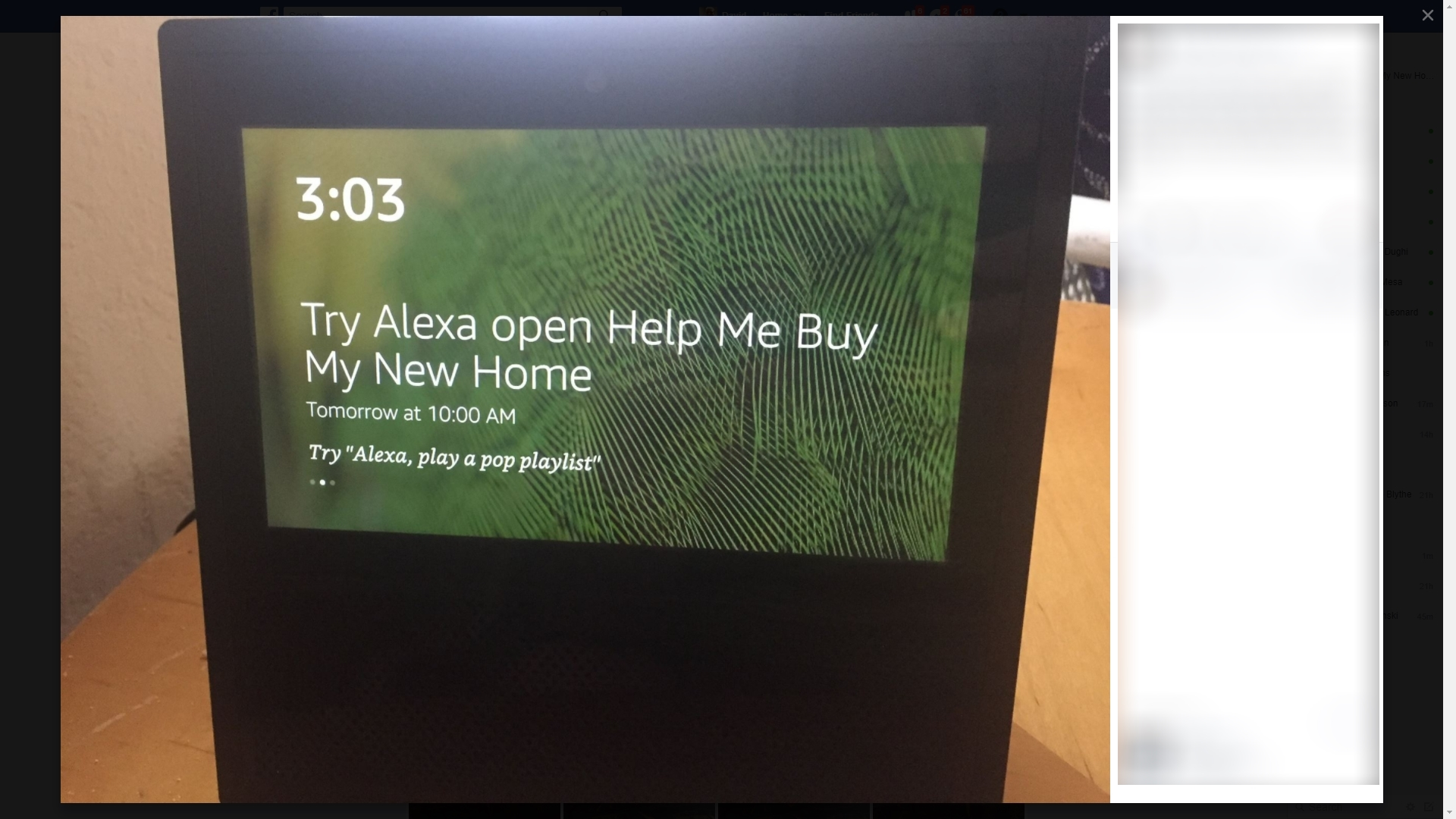 Say Alexa, open Help Me Buy My New Home once the skill is enabled to get started.